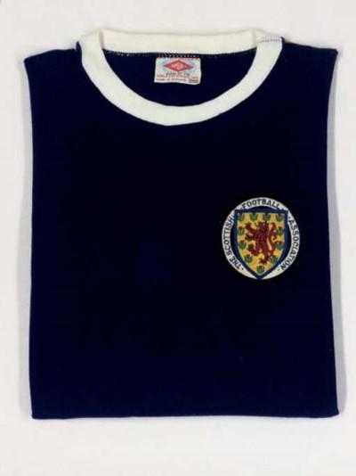 A BLUE SCOTLAND INTERNATIONAL