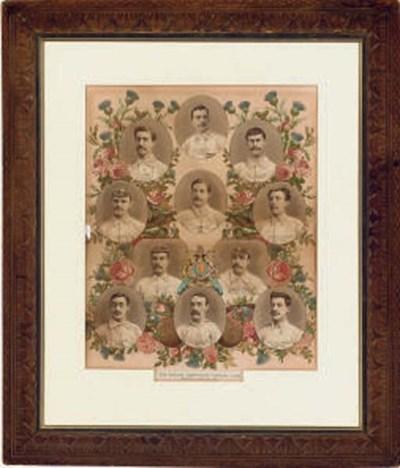 ENGLAND V. SCOTLAND 1892