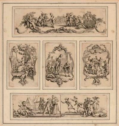 HUBERT-FRANCOIS GRAVELOT (1699