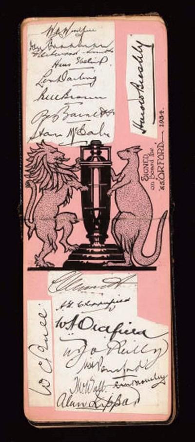 AUSTRALIA, 1934