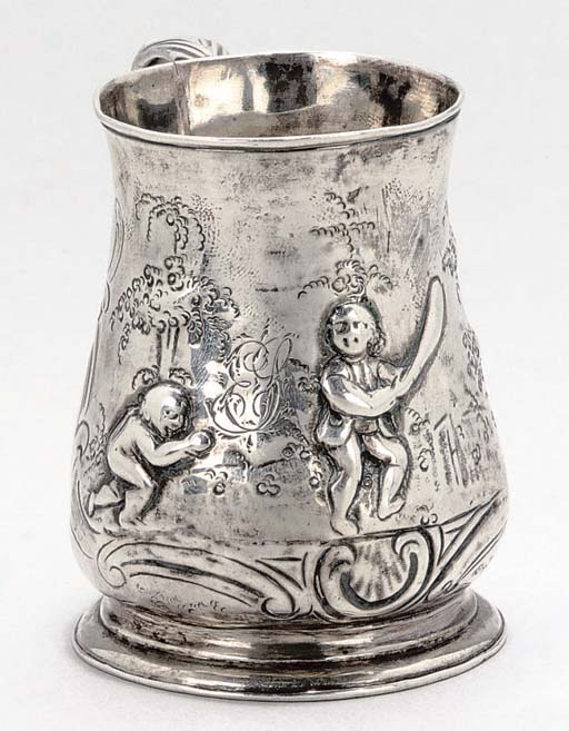 A GEORGE III SILVER CHILD'S CH