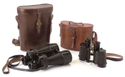 TWO PAIRS OF BINOCULARS
