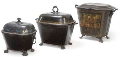 A GROUP OF THREE VICTORIAN JAP