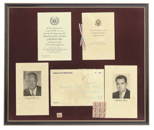 A COLLECTION OF FRAMED MEMORAB