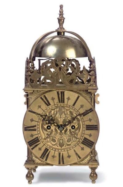 A Victorian  brass striking ei