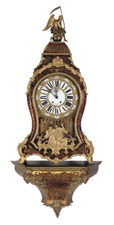 A French ormolu mounted boulle