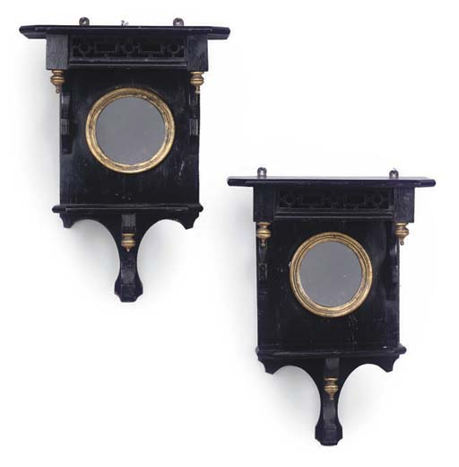 A PAIR OF LATE VICTORIAN AESTH