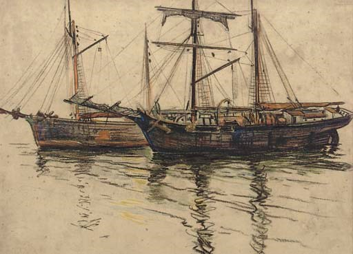 ARTHUR BRISCOE (BRITISH, 1873-