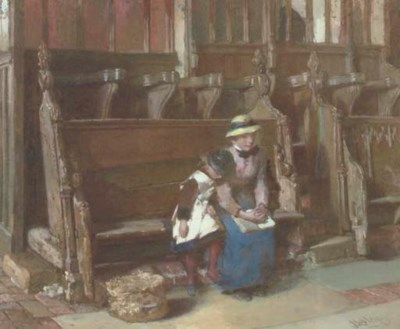 EDWARD GEORGE HOBLEY (BRITISH,