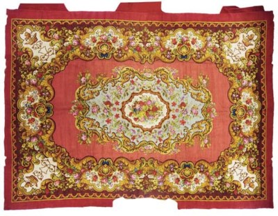 A EUROPEAN PILE CARPET