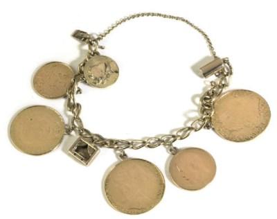 A COIN BRACELET