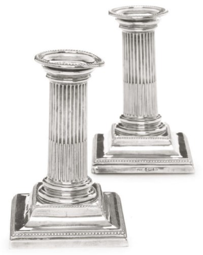 A PAIR OF VICTORIAN SILVER DWA