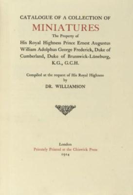 WILLIAMSON, DR. [GEORGE CHARLE