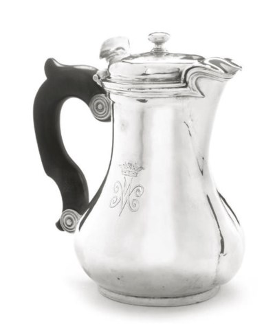 QUEEN MARY'S COFFEE POT A LATE