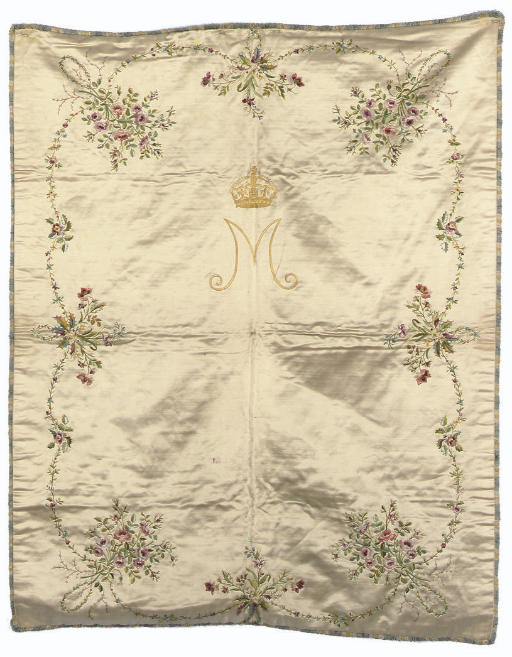 QUEEN MARY'S COVERLET AN IVORY
