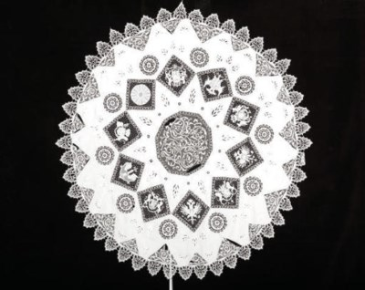 QUEEN MARY'S NEEDLELACE COVERS