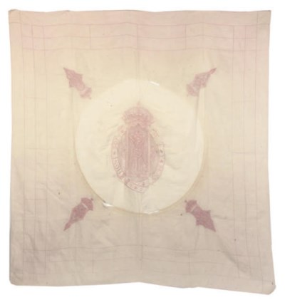 QUEEN MARY'S TABLE CLOTH A SHE