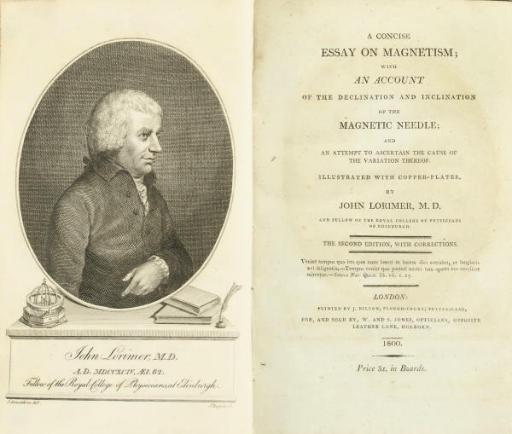 LORIMER, John (1732-95) A Conc