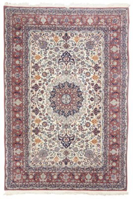 A KASHAN RUG, CENTRAL PERSIA