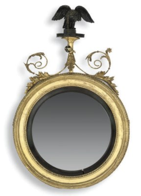 A REGENCY GILTWOOD COMPOSITION