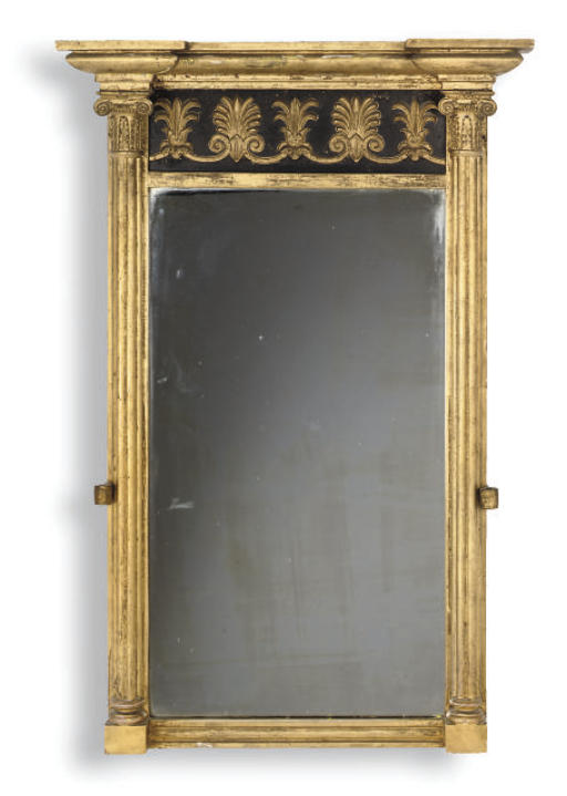 A REGENCY GILTWOOD AND GESSO G