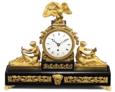 A Regency marble and ormolu-mo