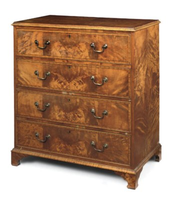A EDWARDIAN SATINWOOD AND CROS