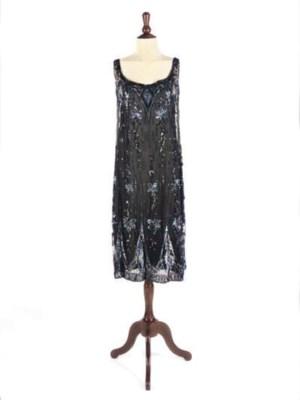 A COCKTAIL DRESS, 1920S
