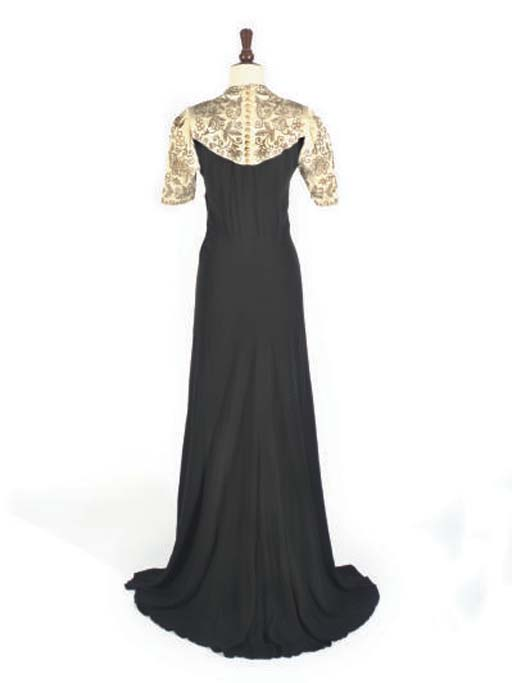 1930S, FOUR GOWNS