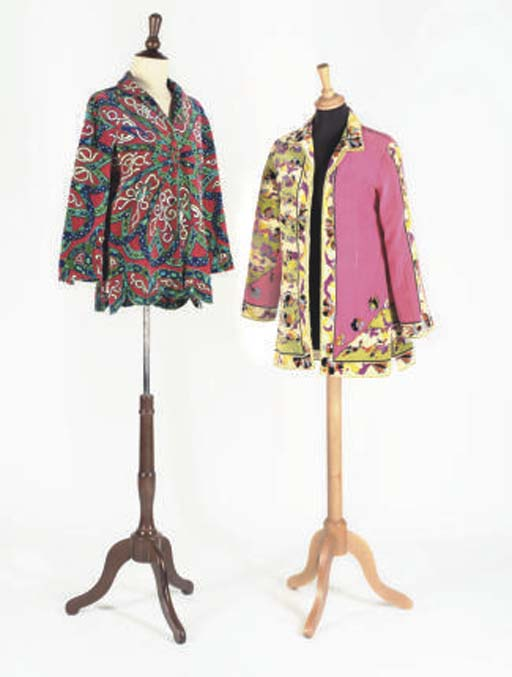 EMILIO PUCCI: TWO TOPS, EARLY