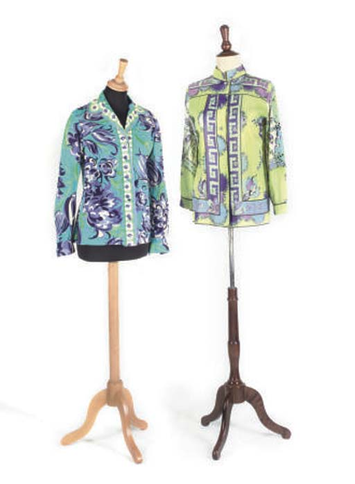 EMILIO PUCCI: TWO BLOUSES