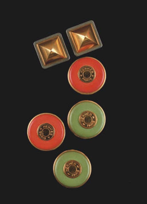 HERMÈS: THREE BOXED PAIRS OF E