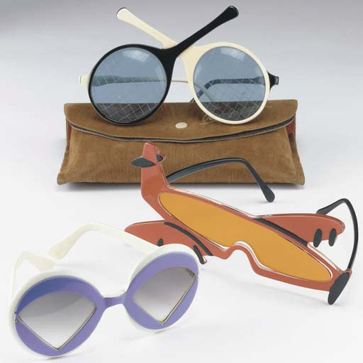 THREE PAIR SUNGLASSES, INCLUDI