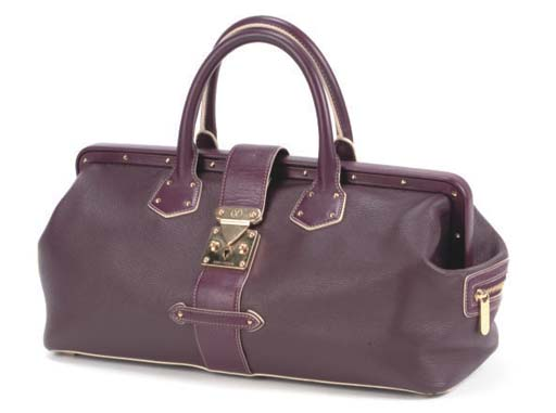 LOUIS VUITTON, A RICH PURPLE D