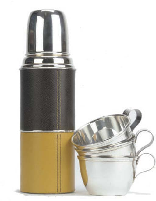HERMÈS, A THERMOS AND CUPS