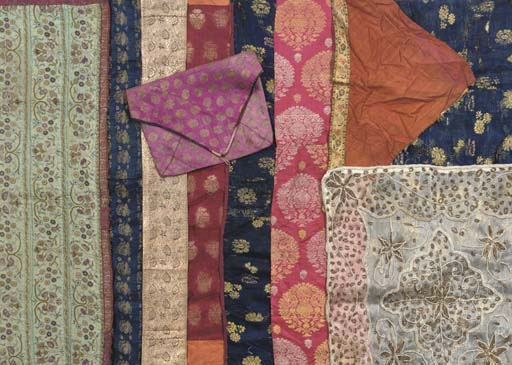 A SMALL COLLECTION OF TEXTILE