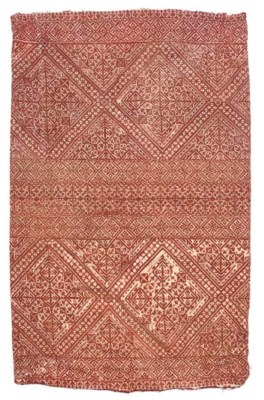 FOUR EMBROIDERIES, FEZ, 19TH C