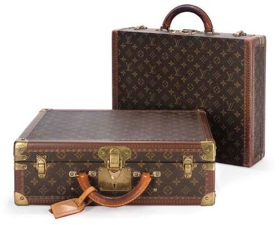 LOUIS VUITTON, TWO BRIEFCASES