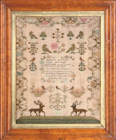 TWO SAMPLERS, ONE DATED 1809