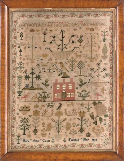 A SAMPLER BY MARY ANN COTTLE,
