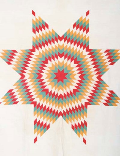 TWO PATCHWORK QUILTS