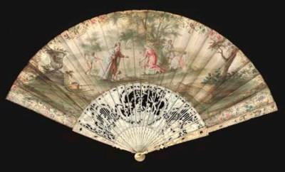 TWO 18TH CENTURY FANS