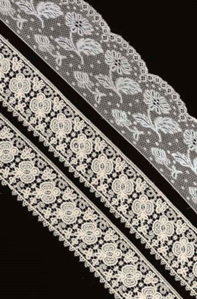 A COLLECTION OF LACE AND CROCH