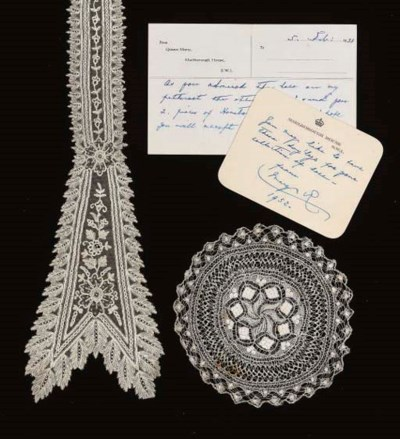 A COLLECTION OF LACE FROM QUEE