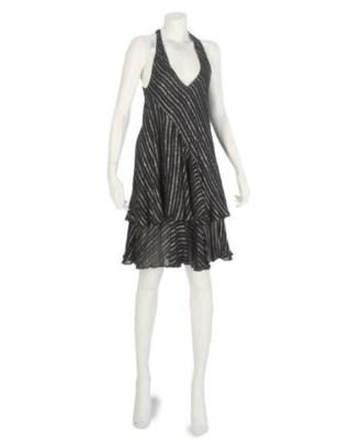 OSSIE CLARK, TWO DRESSES