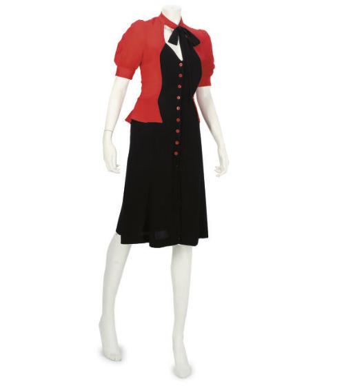 OSSIE CLARK FOR RADLEY, A DAY DRESS