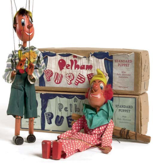 Early Pelham Puppets, late 1940s-early 1950s