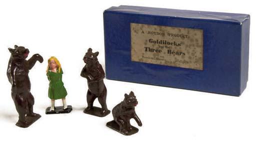 Roydon Goldilocks and The Three Bears