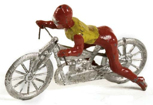Johillco Speedway Rider and Motorcycle