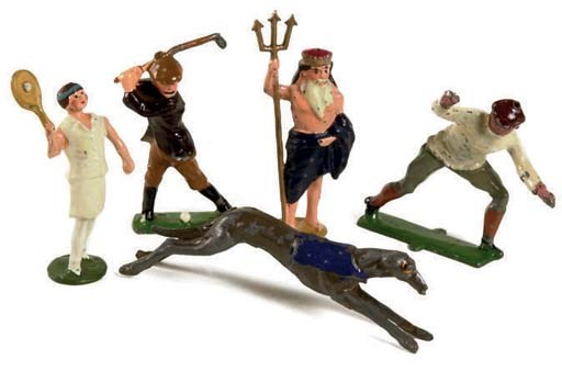 Johillco and Dorre Figures and